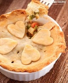 This Turkey Pot Pie is one of our favorite ways to use Thanksgiving leftovers. With a flaky crust and loaded with turkey and vegetables, you will want this to become part of your family tradition too. Sees Fudge Recipe, Fudge Recipes, Turkey Recipes, Lunch Recipes, Cooking Recipes, Easy Family Meals, Easy Meals, Family Recipes, Creamed Peas And Potatoes