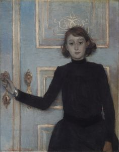 Théo Van Rysselberghe - Portret van Marguerite van Mons.JPG