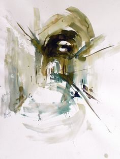 Architectural Sketch | No time by Behzad Bagheri, via Flickr
