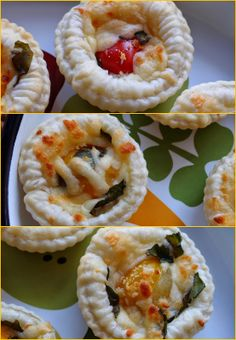 Tomato and herb tartelettes
