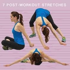 Cool down and prevent soreness after working out with these super-easy and effective static stretches.