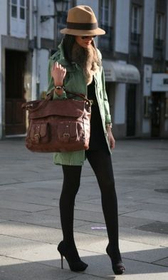 The bag and hate are everything! --United Colors of Benetton in Jackets 1…