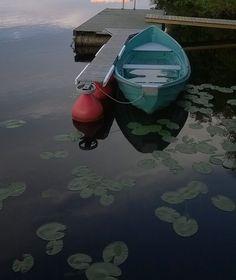 RunoMaalari: Laituri ja vene   ystävykset