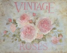 Vintage Rose Prints by Debi Coules at AllPosters.com