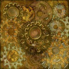 Steampunk Culture BG Freebie | Digital Scrapbooking at Scrapbook Flair