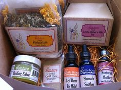 Postpartum Wellness Kit. $60.00, via Etsy.