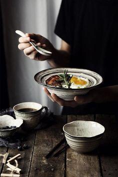 Mr. Grey Soup Bowl Ceramic Bowl Salad Bowl Cereal Bowl