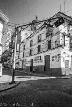 La Paz, Bolivia -crazy street wiring. Bolivia, Street, Digital, Photos, La Paz, Pictures, Walkway