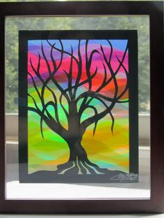 Home Décor Wall Art Tree Of Life Silhouette Cutout by BoldFolds, $40.00