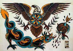 New Traditional Tattoo Flash | Tattoo Flash
