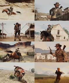 Red Dead Redemption, Video game work at its' finest :)