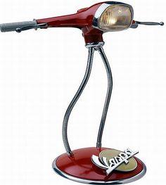 Awesome Vespa Lamp