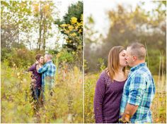 Petros Park Fall Engagement Session | Canton, Ohio | Loren Jackson Photography | Photographer Akron Ohio