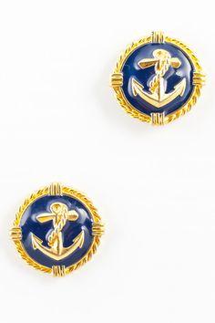 Nautical anchor studs