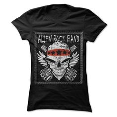 Alien rock band T Shirts, Hoodies. Check price ==► https://www.sunfrog.com/Music/Alien-rock-band.html?41382