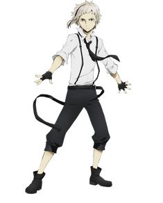 Bungo Stray Dogs | Atsushi Nakajima - Ability: The Beast Beneath The Moonlight | Character Design | Anime | SailorMeowMeow