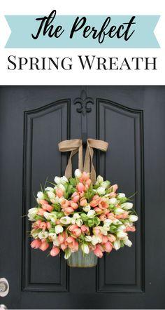 permanent door hanger painted same as door for season decoration