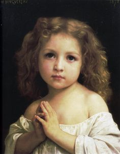 Prayer, 1878 - William Adolphe Bouguereau