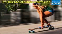 How to create a motion blur on a background to make a photo look like its moving. We will learn how to put a person into motion in Photoshop tutorial. This is a fun tutorial, that I think you will like!