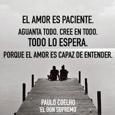 Paciencia amor