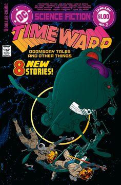 Time Warp No. 2 by Michael Wm Kaluta, Jan 1980, DC Comics