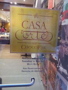 Casa Cortés ChocoBar -- in Old San Juan. Great place for a treat or drink. Plus a free art gallery upstairs