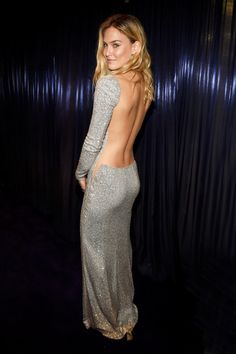 Bar Refaeli In Kaufmanfranco If you've got it, flaunt it. Bar's body-con Kaufmanfranco dress was a home run in our book. Talk about hitting it out of the park.