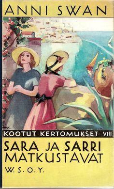 Martta Wendelin (1893-1986) oli aikansa rakastetuimpia suomalaiskuvittajia, joka tunnetaan varsinkin Kotiliesi-lehden kansista, korteista ja... Old Books, Signs, Travel Posters, Finland, Martini, Scandinavian, Literature, Nostalgia, Poster Prints