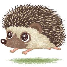 Hedgehog by Toru Sanogawa, via Behance