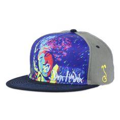 Jimi Hendrix Paint Shallow Snapback