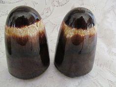 Vintage Pfaltzgraff Gourmet Brown Drip Salt and by EstateFinds4U2, $9.50