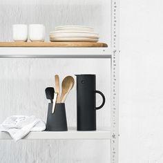 Kitchen steel shelving - powder coated - dark white – vanStaal