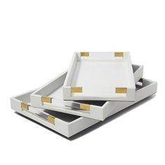 White Decorative Tray Endearing Lacquer Trays  Small Rectangle  Trays Wood Tray And Woods Decorating Design