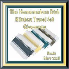 Kitchen Towel Set Giveaway (11/2)