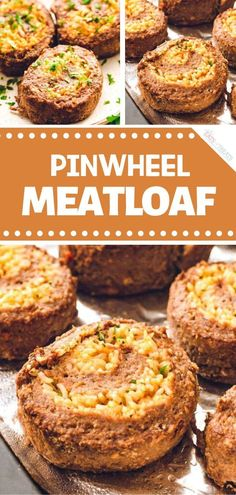 Valentine's Day menu with a new, delicious twist! Pinwheel Meatloaf is a fancy recipe you can easily make ahead. Meatloaf is stuffed with a cheese rice mixture and rolled up to create a beautiful pinwheel effect. Try this romantic dinner idea for two at home!