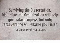 surviving dissertation