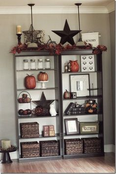 Bookshelves decor ideas @ Home Improvement Ideas