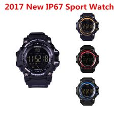 2017 New IP67 Waterproof Bluetooth Smart Watch EX16 Sport Stopwatch Wearable Devices Electronics Connecter smartwatch Alarm Clo #Affiliate