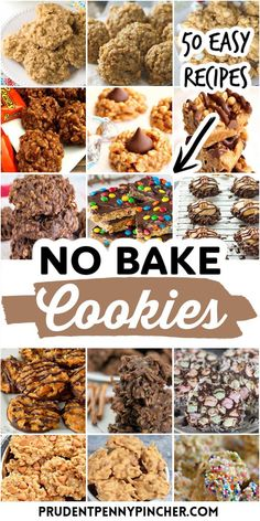 Mini Desserts, Cookie Desserts, No Bake Desserts, Just Desserts, Delicious Desserts, Dessert Recipes, Delicious Chocolate, Dessert Dishes, Healthy Oatmeal Cookies
