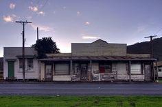 Old shops, Tokomaru Bay, Gisborne, New Zealand Gisborne New Zealand, East Coast, Kiwi, Abandoned, Rust, Mad, Shops, Cottage, Island