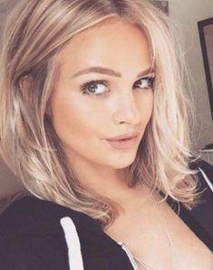 Mittellange Frisurentrends 2019 Haarschnitte Pinterest Hair