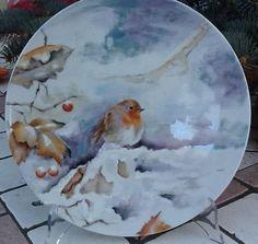 Lind -- Porcelian painting