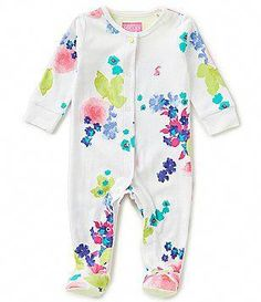 Joules Baby Girls Newborn-9 Months Floral-Print Footed Coverall Baby Outfits Newborn, Baby Girl Newborn, My Baby Girl, Baby Girls, Joules Kids, Joules Baby Girl, Little Girl Outfits, Toddler Girl Outfits, Kids Outfits