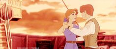 Anya and Dimitri dancing! 90s Cartoons, Disney Cartoons, Disney Pixar, Walt Disney, Anastasia Romanov, Disney And More, Disney Love, Princesa Anastasia, Anastasia Movie