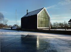 """Island House by 2by4-architects """"Location: Loosdrechtse , The Netherlands"""" 2012"""