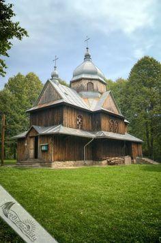 Przepiękna cerkiew którą warto zobaczyć będąc w Bieszczadach. #Bieszczady #cerkiew #Chmiel