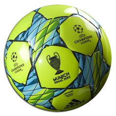 Gotta get this for my son.  UEFA Champions League Ball.