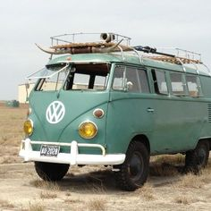 I'd pay a lot for this VW van. How cool!