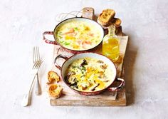 Try the rich and creamy oeufs en cocotte à la crème at home and discover some variations on the dish you can expect in different areas of France Classic French Dishes, French Food, Egg Dish, Food Staples, Savoury Dishes, Soups And Stews, Food For Thought, Creme, Food To Make