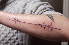 Tatuaje Con La Linea De La Vida Lo Quiero Tatoo Pinterest